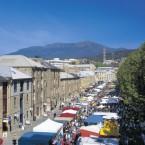 Tasmanian Salamanca Market Shot